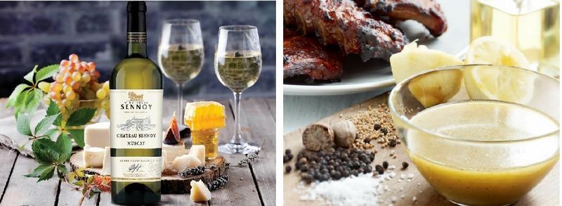 Маринад из белого вина - простой и самый вкусный соус для рыбы на мангале