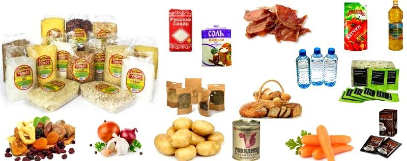 Продукты, которые следует взять с собой в поход