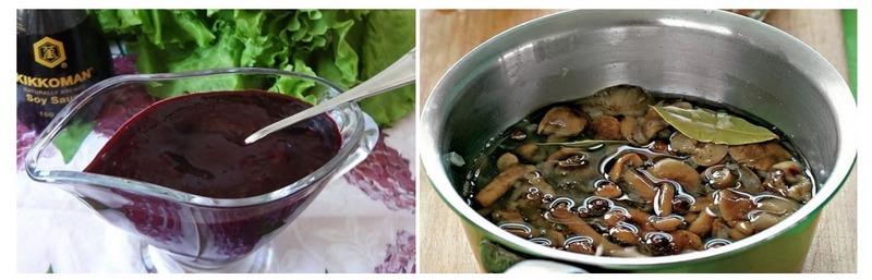 Необычный смородиновый маринад отличается восхитительным неповторимым вкусом