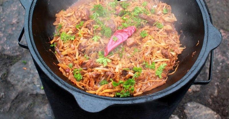 Прибалтийский бигус в казане - вкусное и необычное блюдо