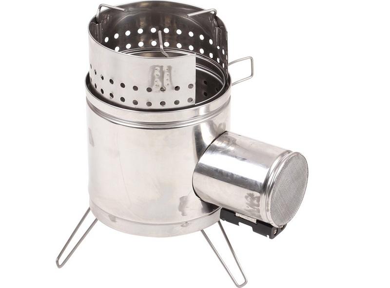 Щепочница – портативная печь, разработанная для нагрева и обогрева