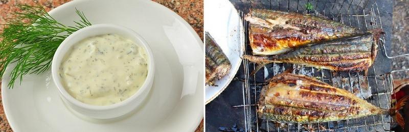 Скумбрия с соусом тартар - кушанье с пикантным вкусом, которое обязательно нужно попробовать