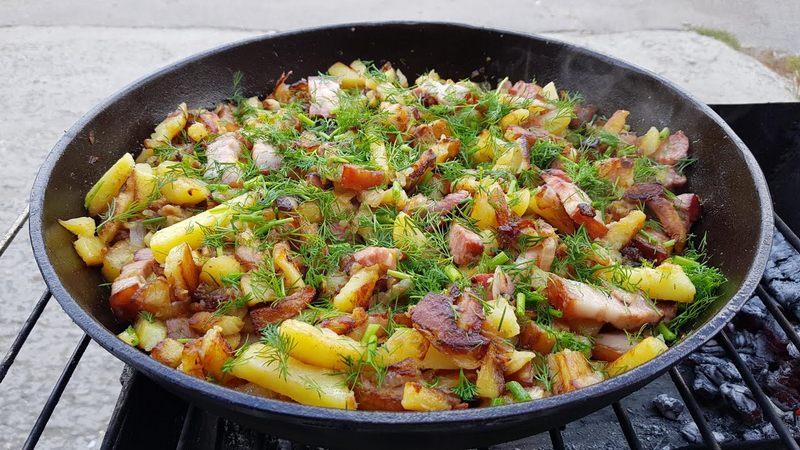 Жаркое с картофелем - это простое в приготовлении блюдо придётся по вкусу всем